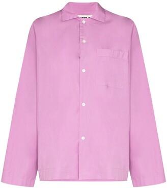 Tekla Longsleeved Pyjama Shirt