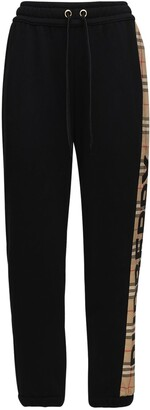 Burberry Raine Jersey Sweatpants W/ Side Bands