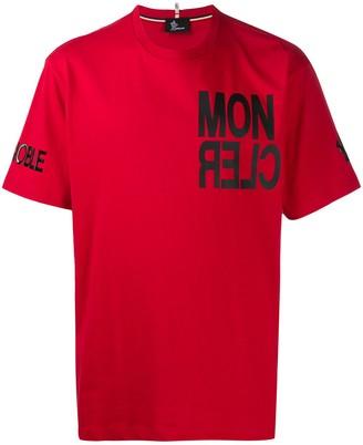 MONCLER GRENOBLE logo-print T-shirt