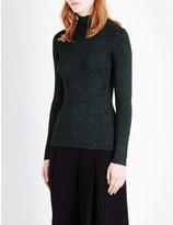 Diane von Furstenberg Tess knitted turtleneck jumper