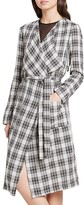 BCBGeneration Plaid Duster Coat