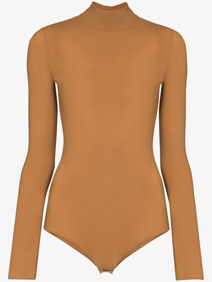 Maison Margiela High-Neck Fitted Bodysuit