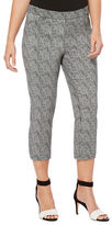 Rafaella Textured Capri Pants