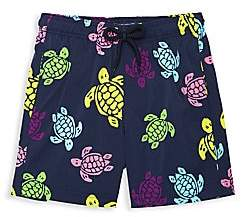 Vilebrequin Little Boy's & Boy's Turtle Printed Swim Shorts