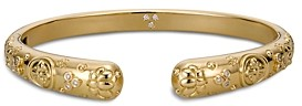 Temple St. Clair 18K Yellow Gold Nomad Bella Cuff Bracelet with Diamonds