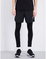 BLACKBARRETT Reflective-stripes shorts