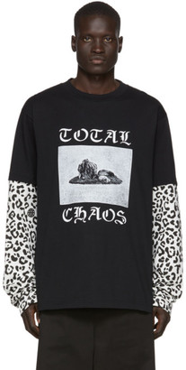 Vyner Articles Black and White Skater T-Shirt