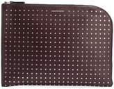 Alexander McQueen half-zip studded pouch
