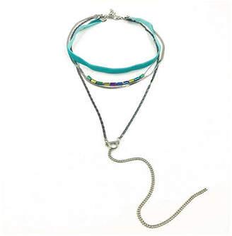 Bijoux Bar 19 Inch Curb Choker Necklace