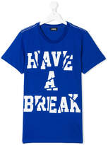 Diesel Have a Break printed T-shirt