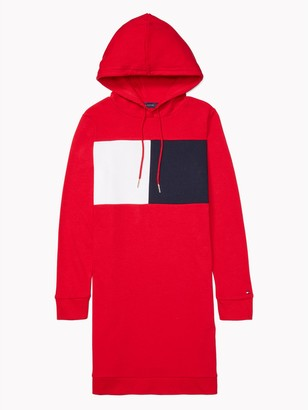 Tommy Hilfiger Essential Flag Hoodie Dress