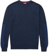 Isaia Mélange Merino Wool Sweater