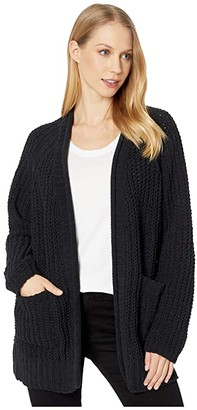 Billabong Warm Up Sweater (Black) Women's Clothing