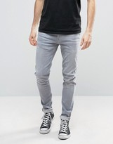 Pepe Jeans Pepe Nickel Powerflex Skinny Jeans Grey Wash