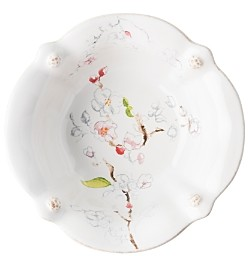 Juliska Berry & Thread Floral Sketch Cherry Blossom Cereal/Ice Cream Bowl