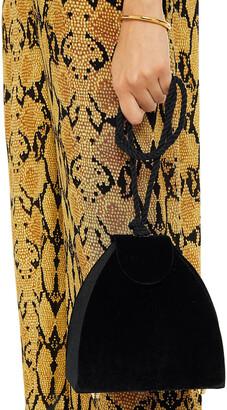 Kayu Penelope Knotted Velvet Shoulder Bag