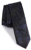 Paul Smith Men's Floral Silk Jacquard Tie