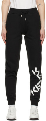 Kenzo Black Sport Big X Lounge Pants