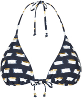 Monsoon Lola Printed Bikini Top Triangle