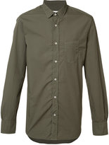 Officine Generale patch pocket shirt - men - Cotton - S