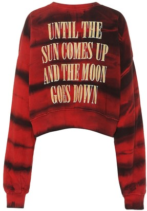 Amiri Printed cotton sweater
