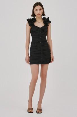 C/Meo AMPLIFY DRESS Black