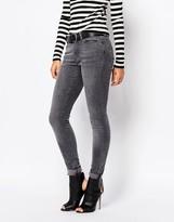 Vero Moda Gray Washed Skinny Jean