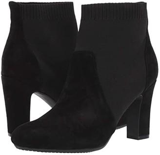 Aerosoles Tagline (Black Suede) Women's Boots