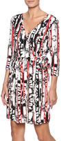 Tart Collections Printed Wrap Dress