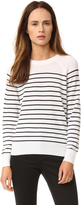 Jenni Kayne Striped Cashmere Sweater
