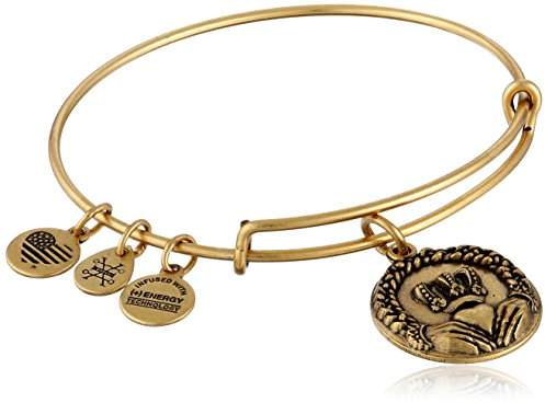 Alex and Ani Claddagh II Expandable Bangle Bracelet