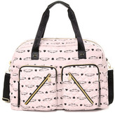 Betsey Johnson Floral Cargo Weekend Bag