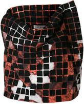 Issey Miyake cropped boxy T-shirt
