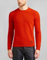 Belstaff Margate Crewneck Jumper Red Orange