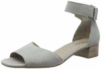 Gabor Shoes Women's Fashion Ankle Strap Block Heels Sandals Grey (Grau 19) 3.5 UK