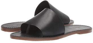 Madewell Boardwalk Post Slide Sandal (True Black) Women's Shoes