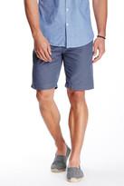Save Khaki Houndstooth Bermuda Short