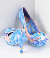 Irregular Choice Blue & Pink Faith In Dreams Cinderella Heels