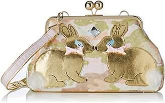 Irregular Choice Womens Magic Bunny Shoulder Bag