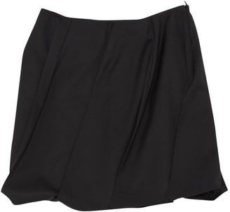 JC de CASTELBAJAC Black Wool Skirts