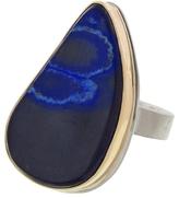 Jamie Joseph Asymmetrical Azurite Ring