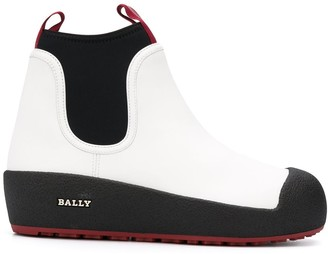 Bally Gadey platform ankle boots