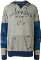 Polo Ralph Lauren patchwork hoodie