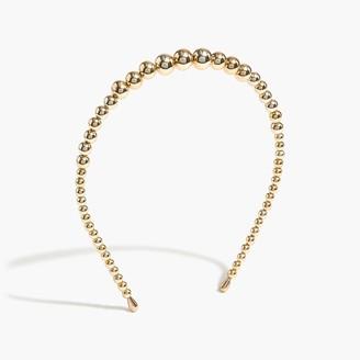 J.Crew Gold beaded headband