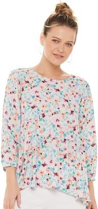 Elle Women's Puff Sleeve Blouse