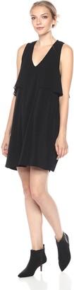 BCBGeneration Women's Overlay Inset Dress