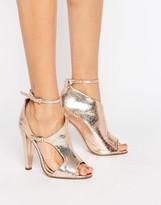 Little Mistress Asymmetric Heel Sandal