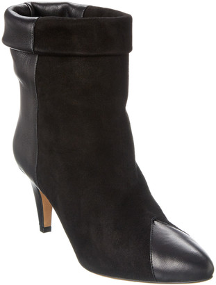 Isabel Marant Suede & Leather Ankle Boot
