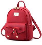 LCFUN Cute Mini Leather Backpack Fashion Daypacks Purse for Girls and Women