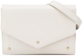Sara Battaglia Plisse Belt Bag